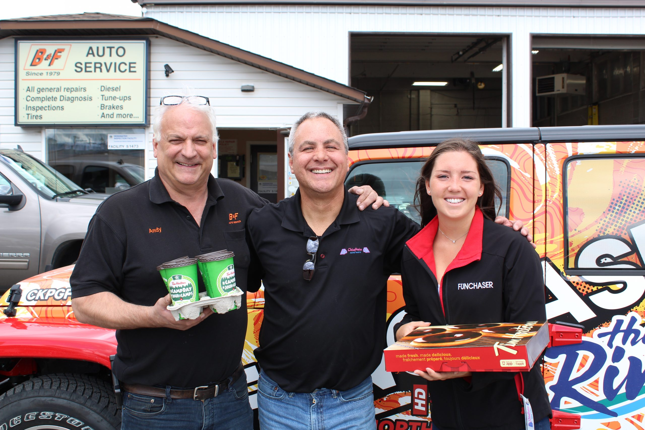 Coffee Break with Chieftain Auto Parts