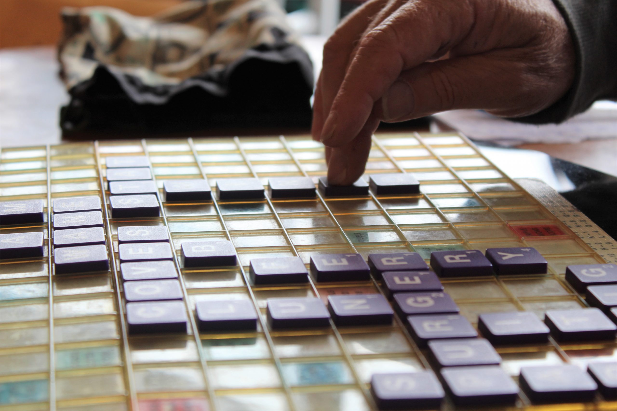 Never have I ever played Scrabble: Vero's Sunday September 16th
