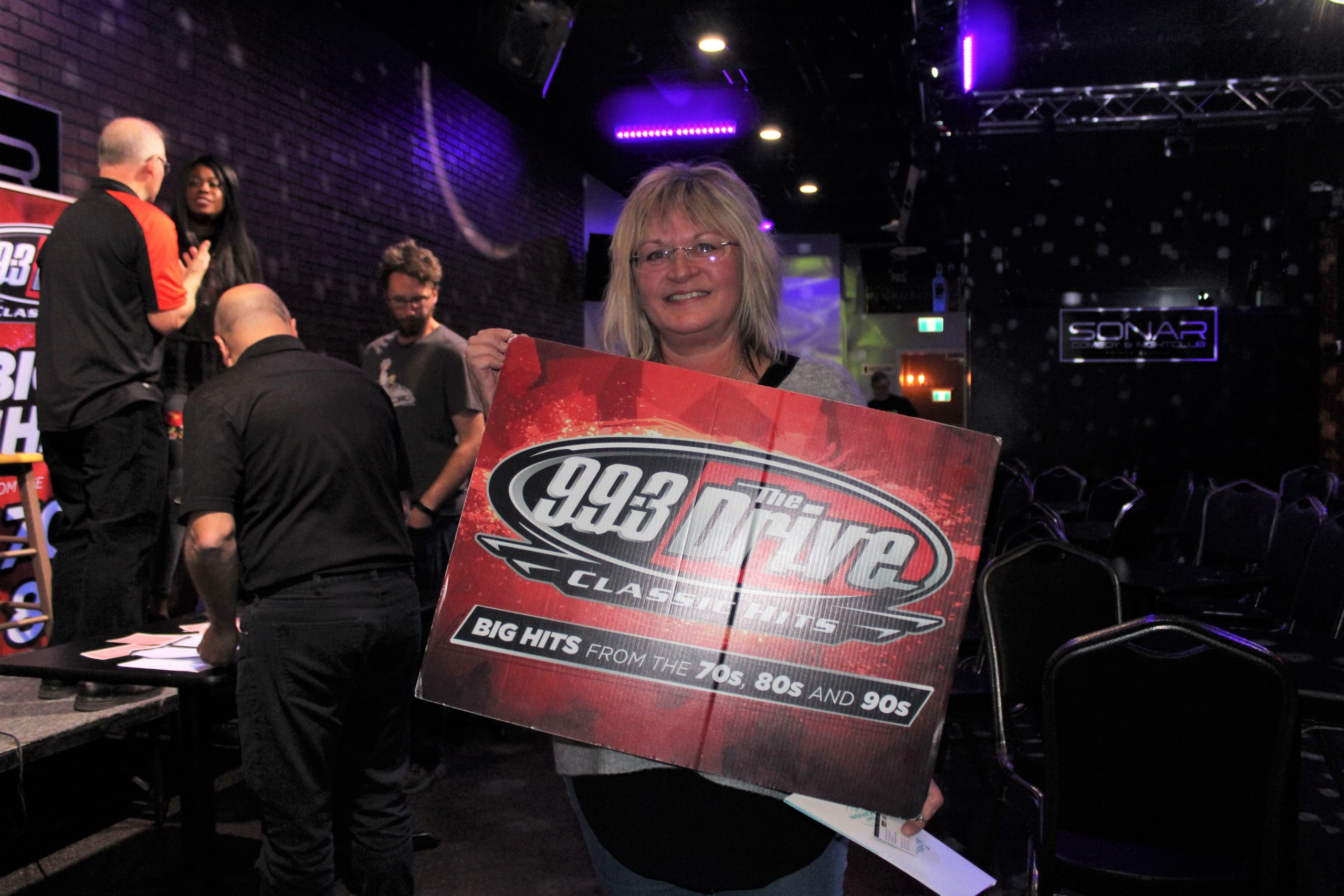 She's heading to the big apple: 99.3 the Drive Elton John-New York give away winner