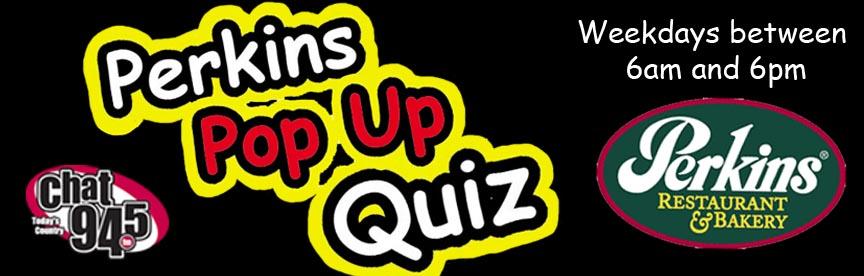 Perkins Pop Up Quiz