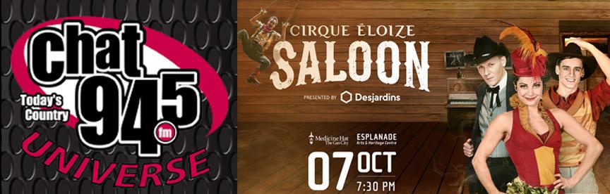 CHAT Universe Cirque Éloize's Saloon