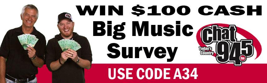 CHAT's Big Music Survey