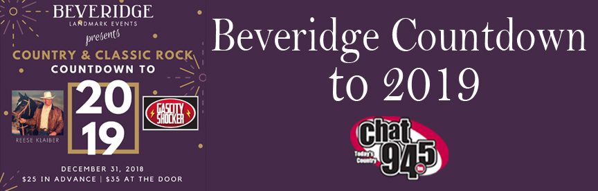 Beveridge Countdown to 2019