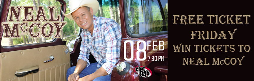 Free Ticket Friday Neal McCoy