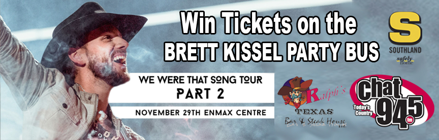 Brett Kissel Party Bus