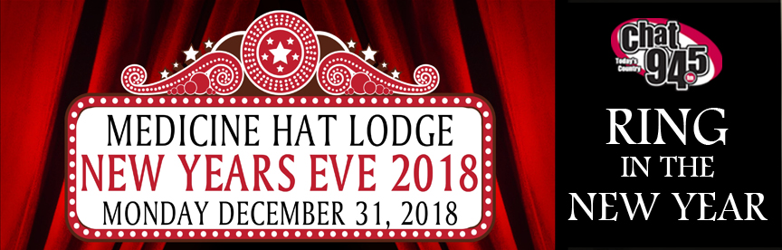 Ring in the New Year with the Medicine Hat Lodge