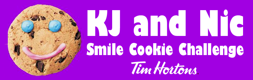 KJ and Nic Smile Cookie Day