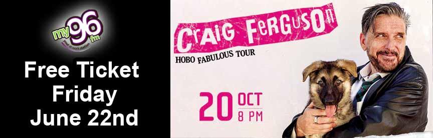 Free Ticket Friday Craig Ferguson