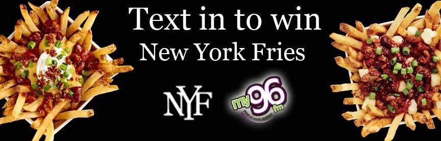 New York Fries Texting