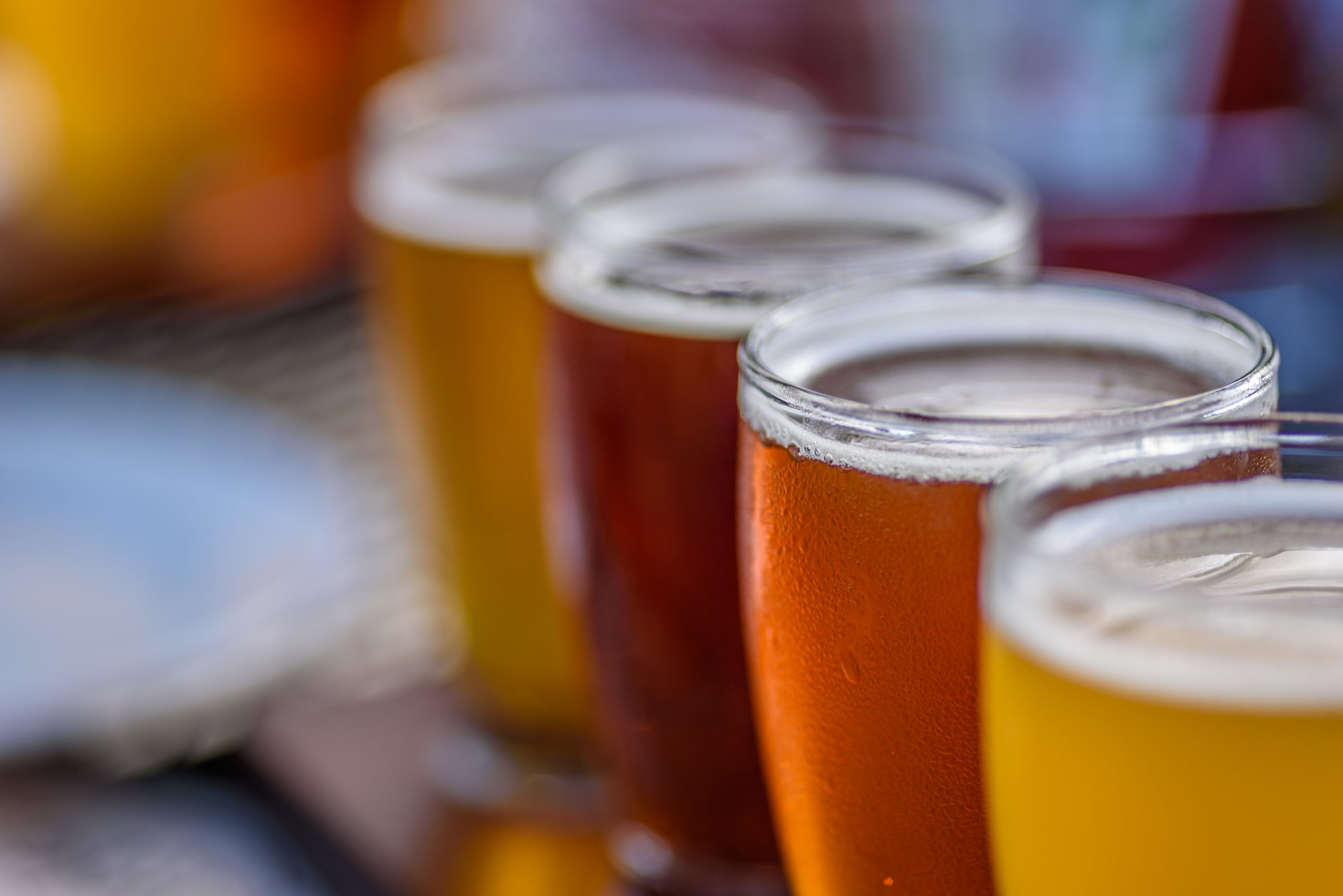 How would climate change affect the price of beer?