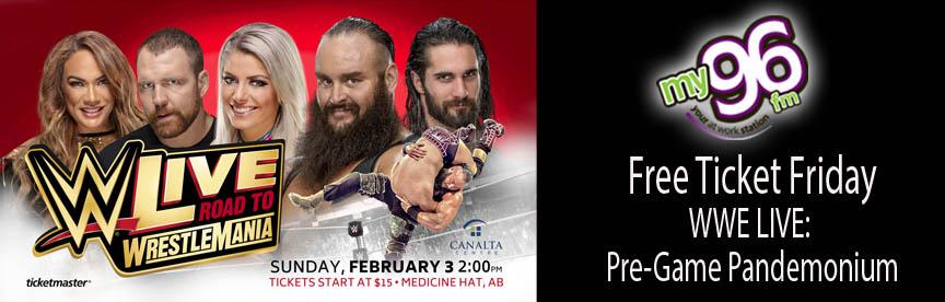 Free Ticket Friday WWE