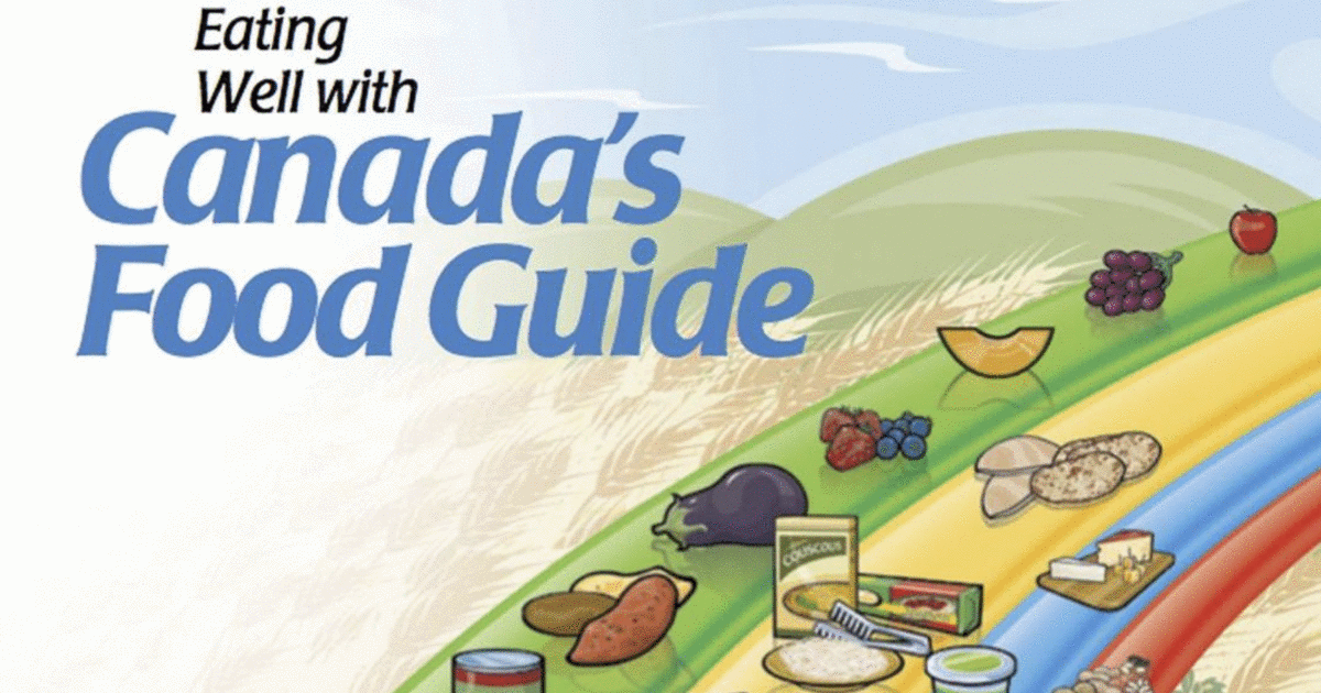 Why I will be ignoring Canada's Food Guide 2019
