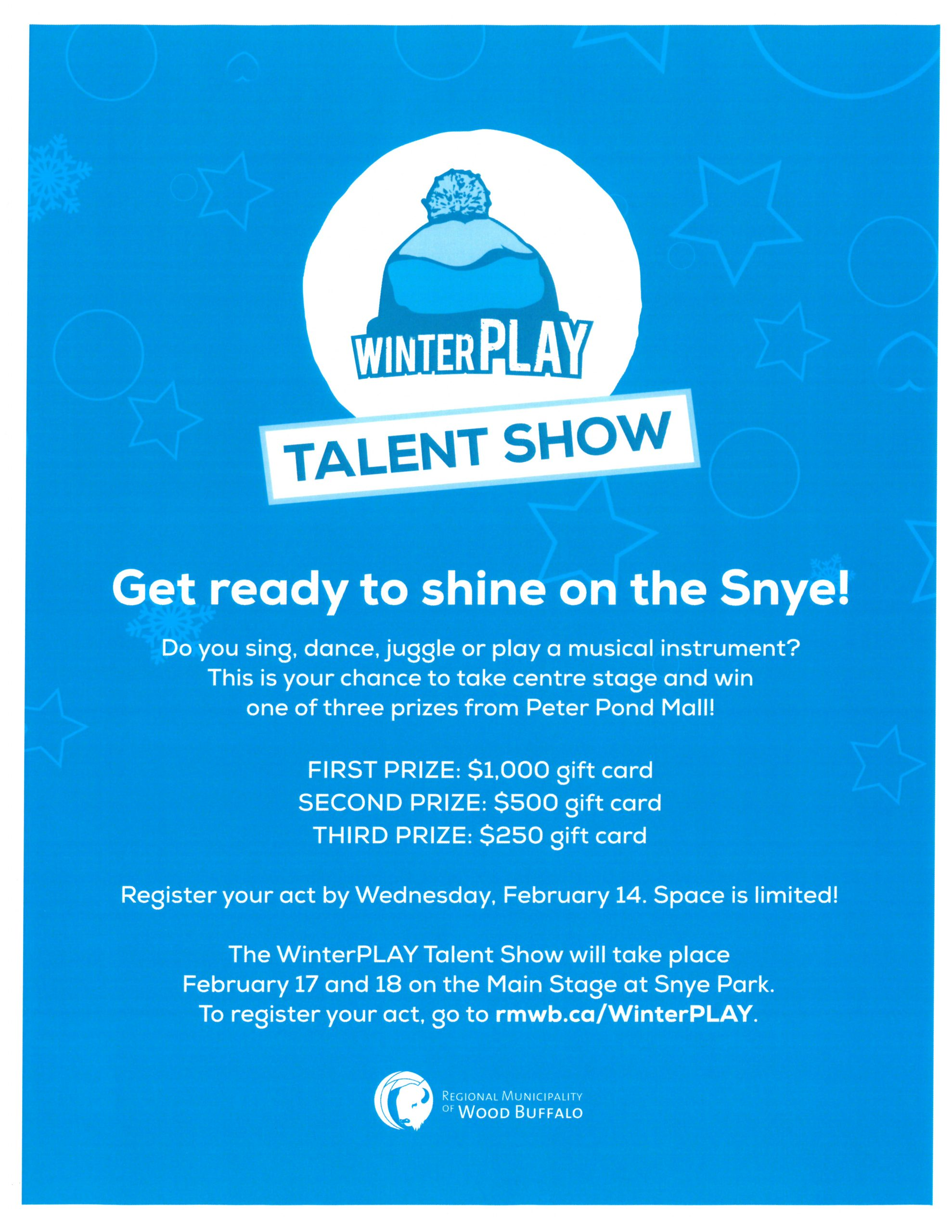 Winterplay 2018 Talent Show 100 5 Cruz Fm