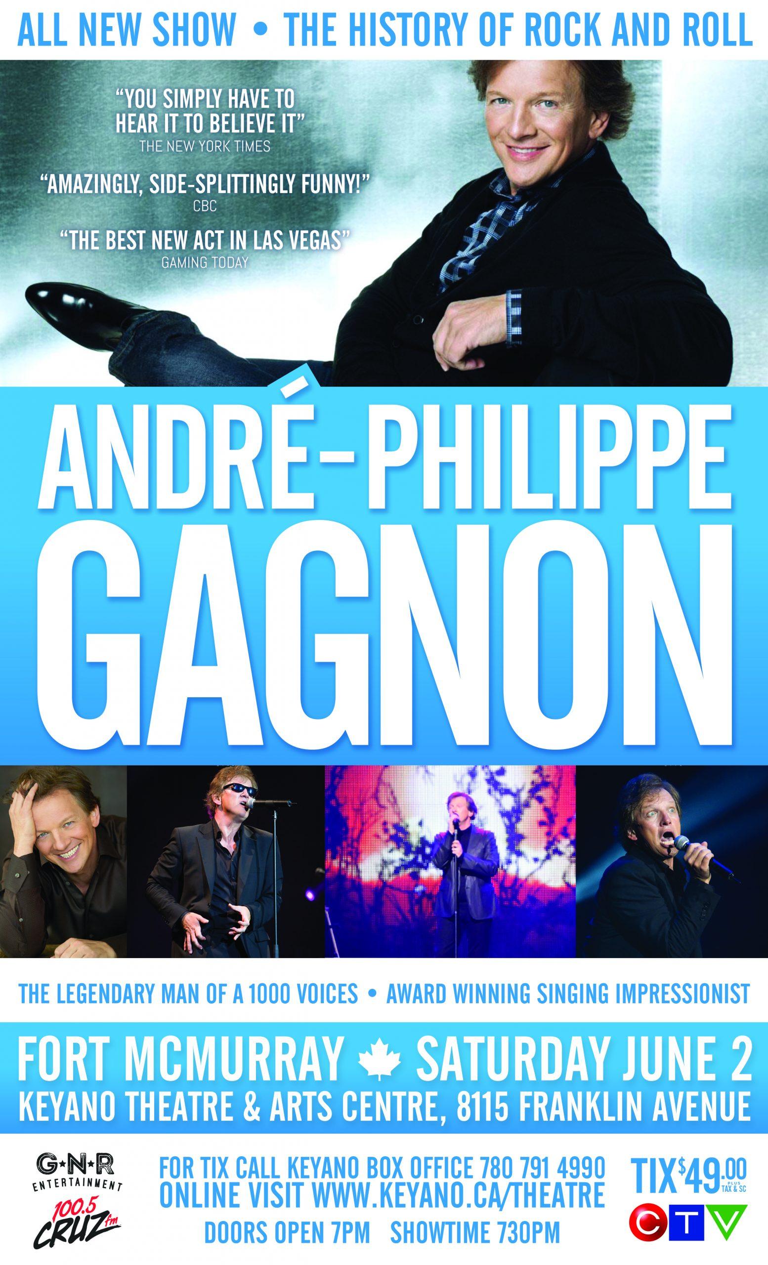 Andre Philippe Gagnon | 100 5 CRUZ FM