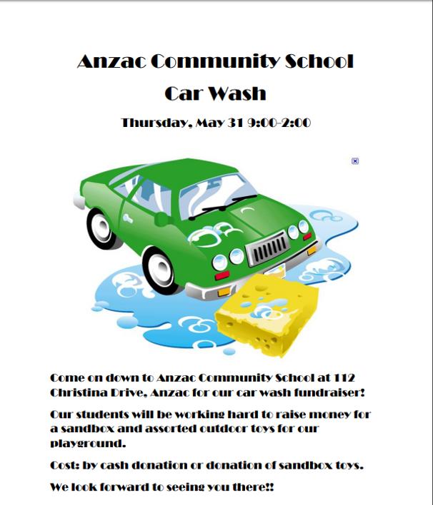 Car Wash Fundraiser 1005 Cruz Fm