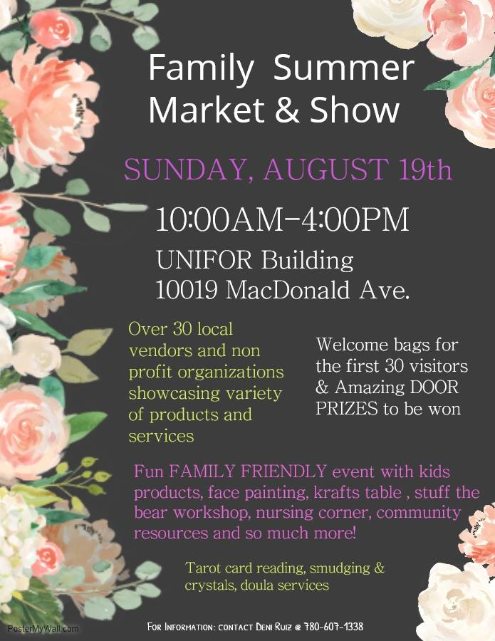 Family Summer Market & Show | 100 5 CRUZ FM
