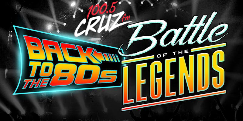 Win 4 Back to the 80s Party Tickets!