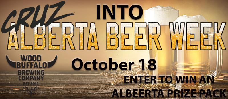 CRUZ into Alberta Beer Week!