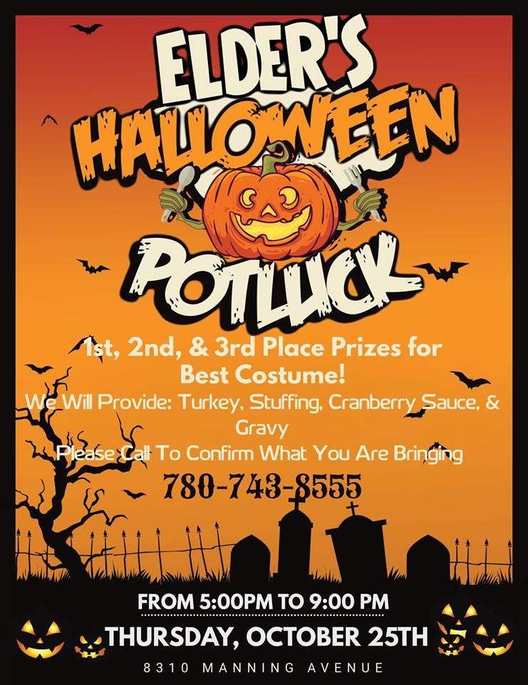 Elders Halloween Potluck! | MIX 103 7