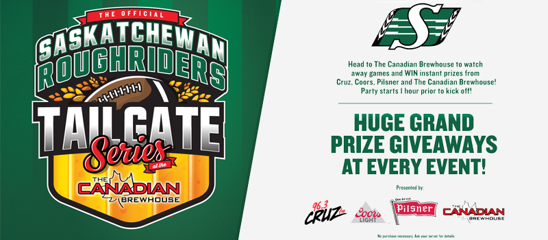 Feature: https://www.cruzfm.com/2018/08/14/saskatchewan-roughriders-tailgate-series/