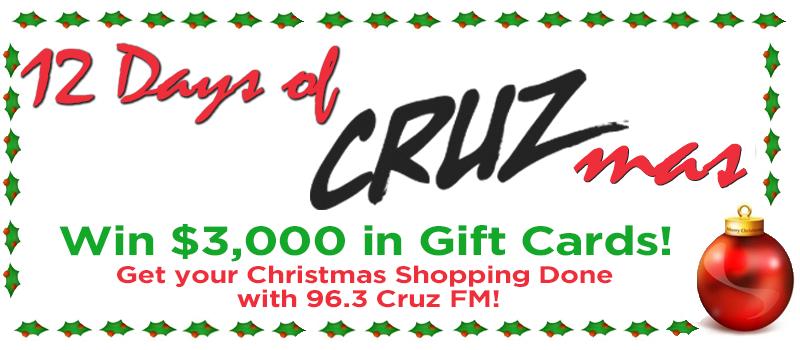 Feature: https://www.cruzfm.com/2018/11/26/12-days-of-cruzmas/