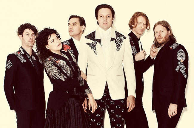 Arcade Fire Cover 'Linger' In Dublin