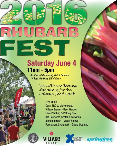 Rhubarb Fest YYC is the next great festival in Calgary!