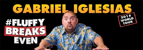 Gabriel Iglesias at WinSport!