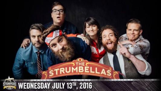 X Welcomes The Strumbellas this Stampede!