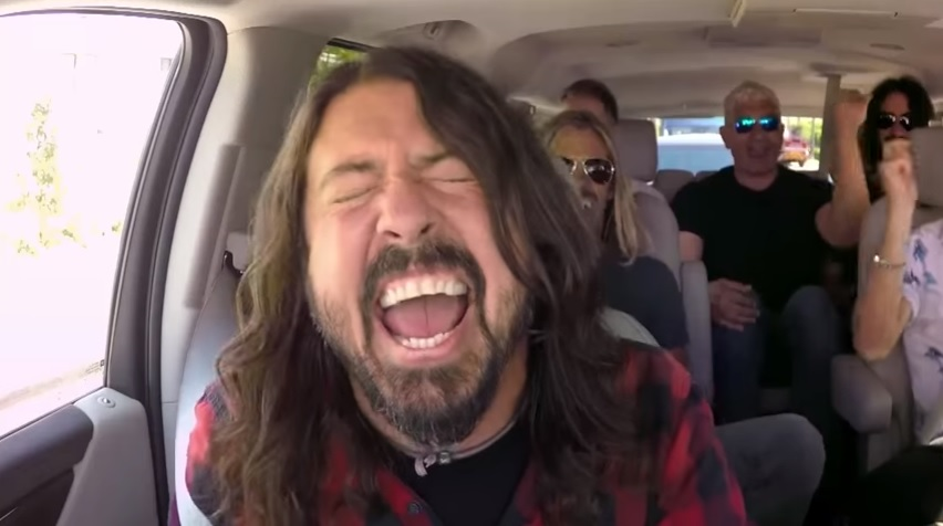 Foo Fighters on Carpool Karaoke AND NOT THE APPLE MUSIC BS ONE!