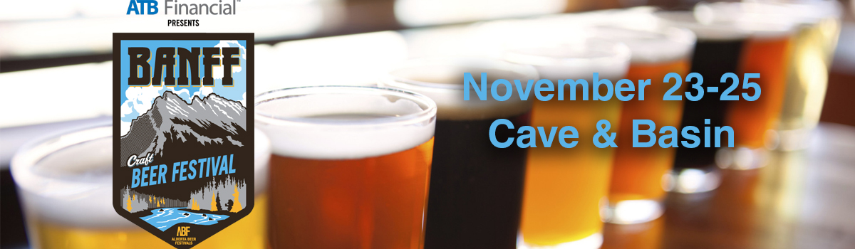 Banff Craft Beer Festival- November 23-25