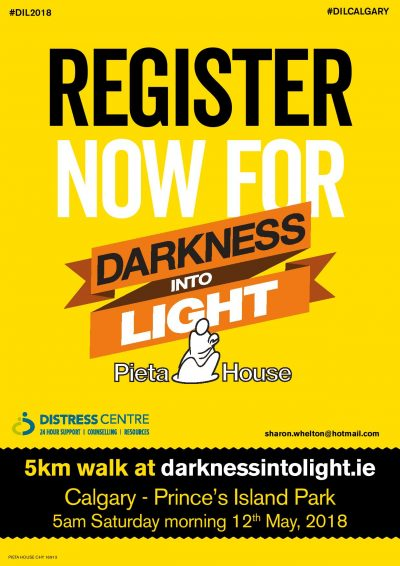 Darkness Into Light- May 12