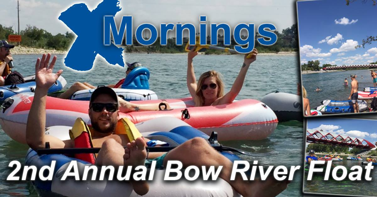 2nd Annual X-Mornings Bow River Float - CANCELLED