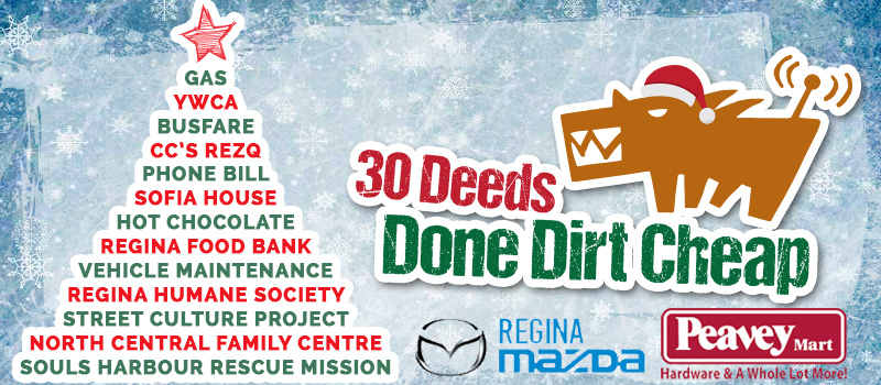 Day 14 of 30 Deeds Done Dirt Cheap | 104 9 The Wolf