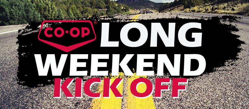 Sherwood Co-op Long Weekend Kick Off
