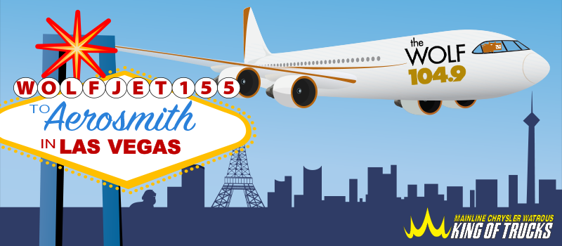 WOLF Jet 155 to Aerosmith in Las Vegas
