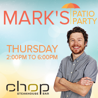 Mark's Patio Party at CHOP