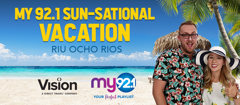 Feature: http://www.my921.ca/sun-satational-vacation/