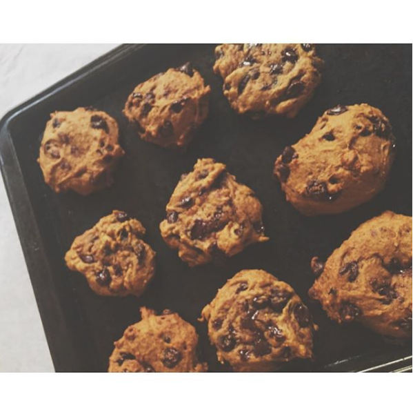 Leah's Chocolate Chip Pumpkin Cookies