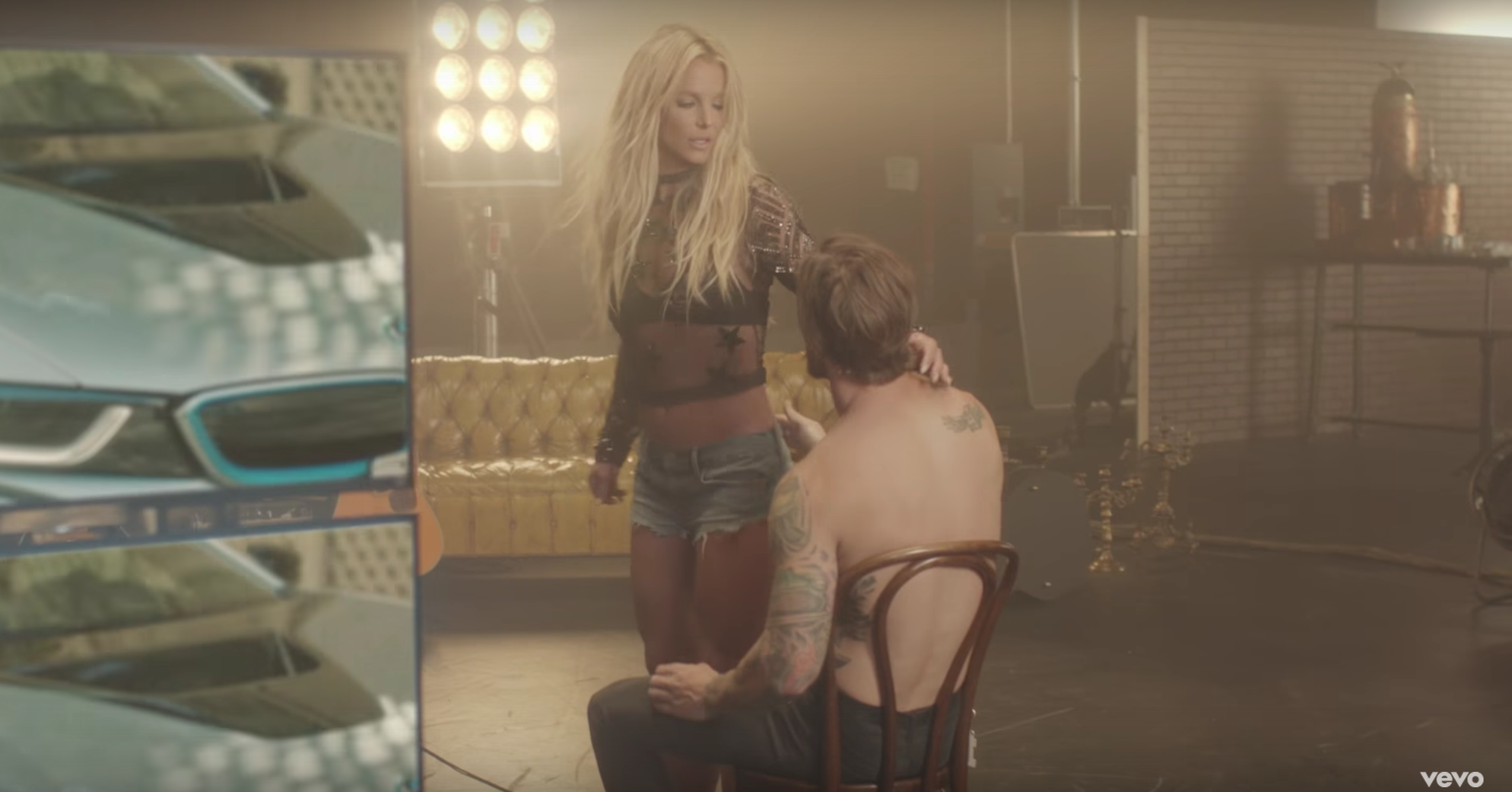 "Just in time for the weekend : Britney's hot new video for ""Make Me"""