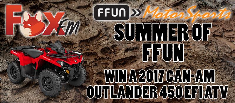 Fox FM – Summer of FFun ATV Giveaway!