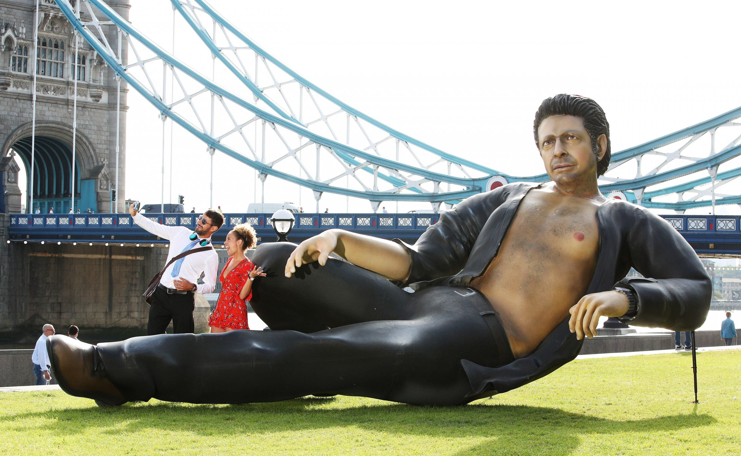 There is a 25 Foot Jeff Goldblum Statue in London