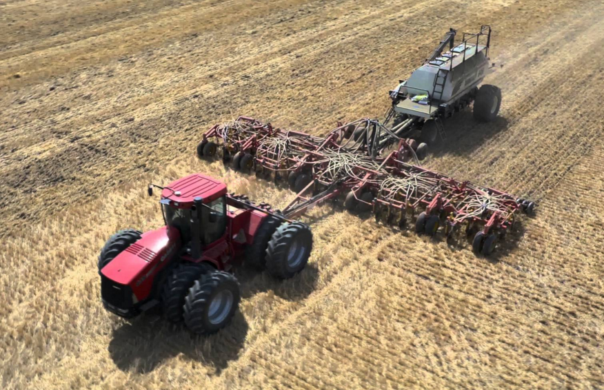 Seeding advances rapidly across Saskatchewan