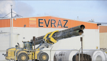 Evraz steel workers optimistic after feds purchase Trans-Mountain project