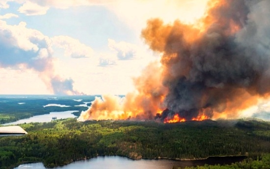 Saskatchewan Wildfire officials say eight fires remain burning in the province
