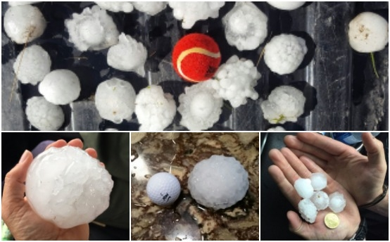 Storms over central Saskatchewan bring hail, tornado sightings