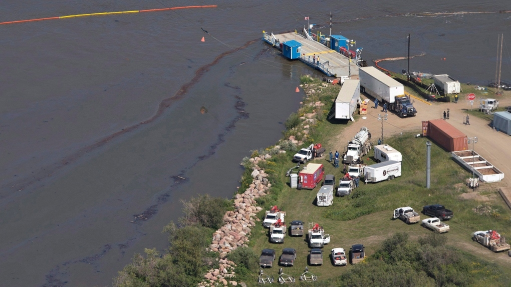 A year later, Husky Oil spill clean-up nears completion