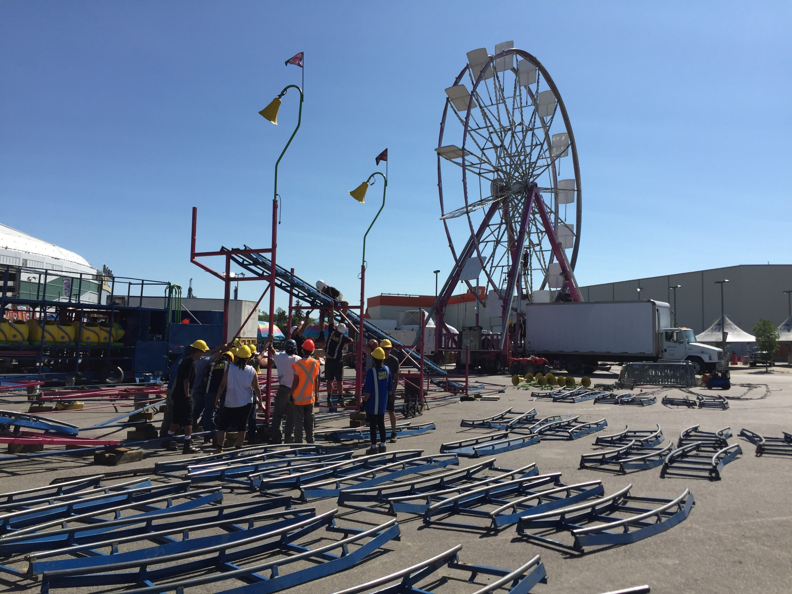 QCX will be full of ride goers and police this year