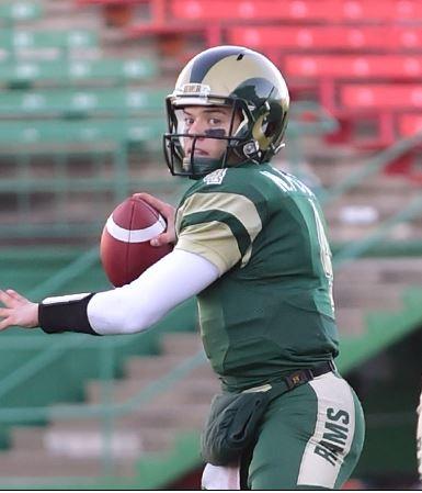 Regina Rams QB Noah Picton shines at East-West game