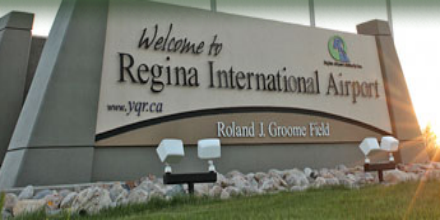 Plane landing at Regina airport strikes coyote